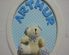 Porta de Maternidade - Simples Urso