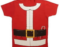 Camiseta Papai Noel - Adulto
