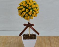 Topi�ria De Mini Rosas Amarelas