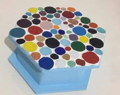 Porta joias - Mosaico