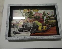 Quadro Arte Francesa Frutas