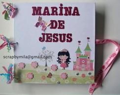 Livro de Assinaturas Princesa
