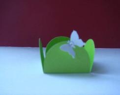 Forminha de  doce de borboleta e strass