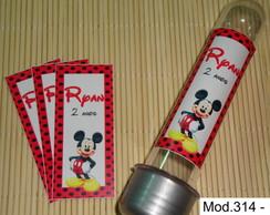 R�tulo Tubete grande Mickey