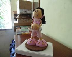Boneca gravida EVA 3D