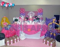 Barbie Princesa e Pop Star - Decora��o