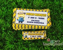 Kit Etiqueta Escolar Frete Gr�tis Brasil