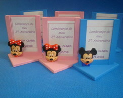 PORTA RETRATO - MICKEY E MINNIE