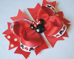 La�o De Boutique Minnie Vermelha