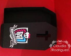 Caixa caix�o Monster High