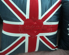 Almofada London flag