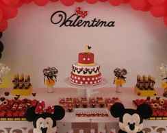 Loca��o Pe�as Decorativas Minnie Mickey