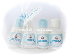 Kit mini hidratante e �lcool gel 30ml!!