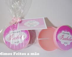 Latinha com velinha - Proven�al rosa!