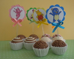 Topper para doces - Backyardigans la�o