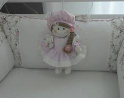 Kit ber�o boneca 7 pe�as