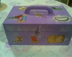 Caixa de costura - Roxa