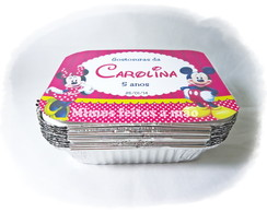 Marmita de 250gr - Minnie e Mickey!!!!