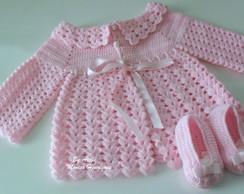 Conjuntinho para Beb� em Croch�