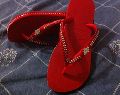 Havaiana Strass/Lateral/Correia/PIERCING