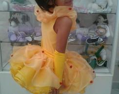 Fantasia Princesa Bela E A Fera CURTO