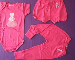 Conjunto Body 3 Pe�as