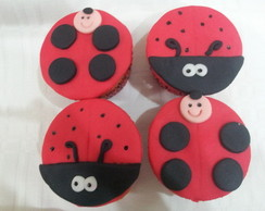 Cupcake de Joaninha
