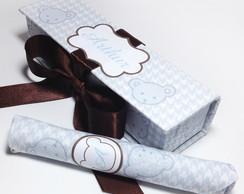 Charuto de Chocolate - Lembrancinha