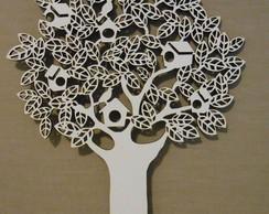 �rvore Casinhas Passarinhos 30cm