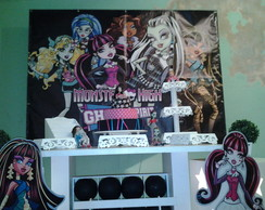 Decora��o da monster High