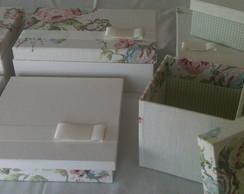 Kit Maternidade - caixas organizadoras.
