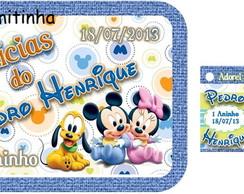 R�tulo Marmitinha Baby Disney e Pocoyo