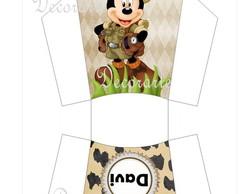 Caixinha Fritas Mickey safari