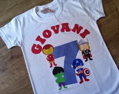 Camiseta Anivers�rio Vingadores