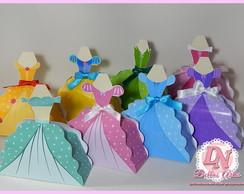 Caixinhas Vestidos Princesas