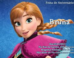 Convite - Frozen