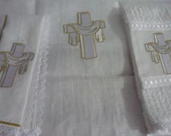 Trio Altar Luz - Dourado
