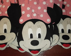 SACOLA SURPRESA MINNIE ROSA