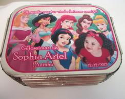 Marmitinhas Personalizadas das princesas