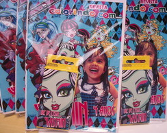 Kit Colorir monster high