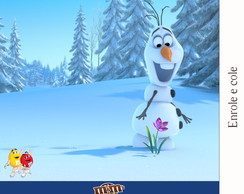 R�tulo Para M&m Frozen