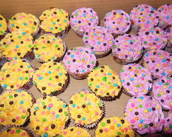 Mini Cupcakes Decorados/Recheados