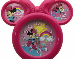 Rel�gio Mickey e Minnie Kit com 10 unid.