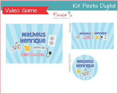 Kit Festa Digital Video Game