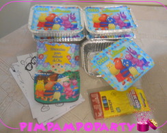 Kit Marmita e Giz de Cera Backyardigans