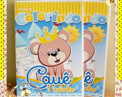Revista Personalizada Urso Pr�ncipe