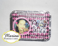 Marmitinha personalizada Monster High