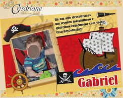 Convite ou lembran�a Piratas