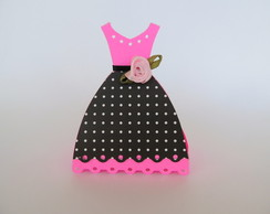 VESTIDO CAIXA PRINCESA MONSTER HIGH