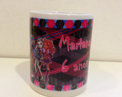 Caneca De Porcelana Monster High
